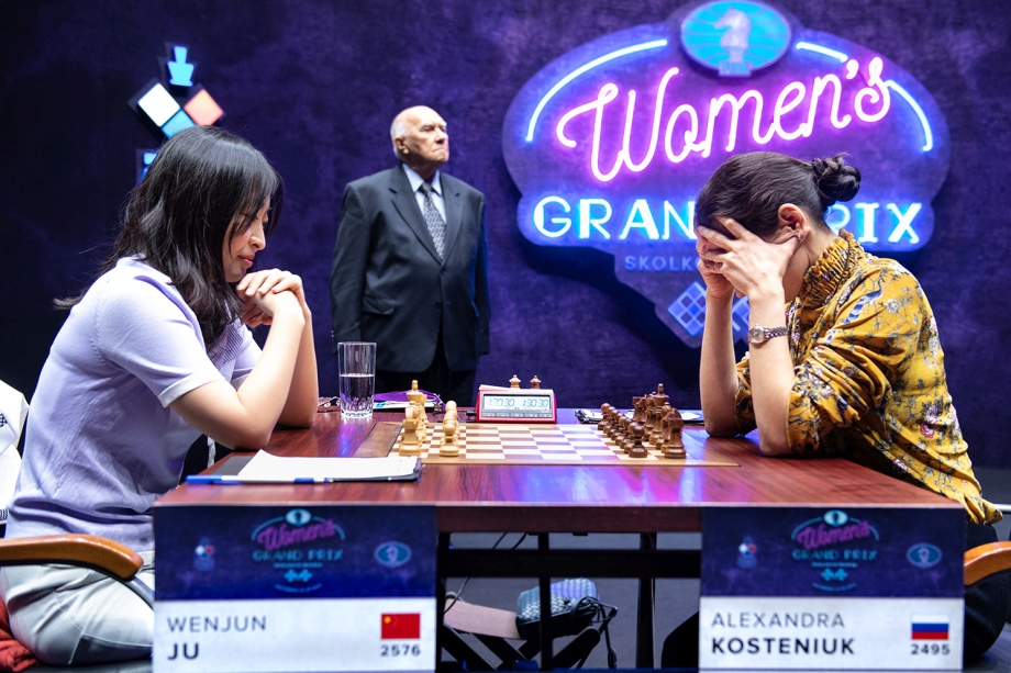 WGP: Ju Wenjun wins again, Humpy Koneru stays in the race