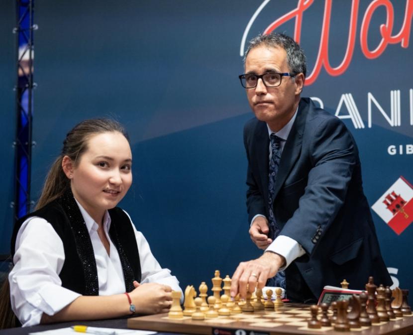 Round 10: Zhansaya wins the tournament