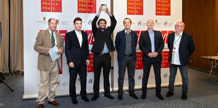 Sam Shankland wins Prague Chess Festival Masters