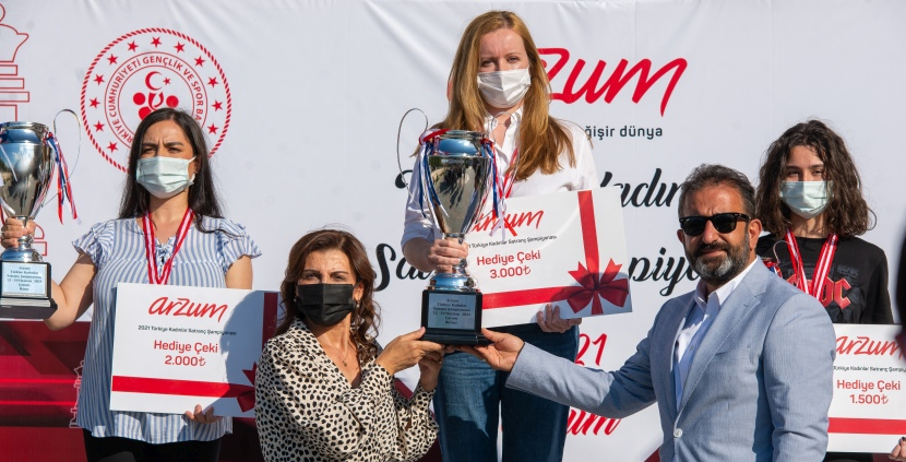 Turkish Women's Championship: Atalik clinches her fifth title