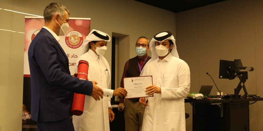 """QCA and Northwestern University in Qatar hold joint course """"Chess and Strategic Thinking"""""""