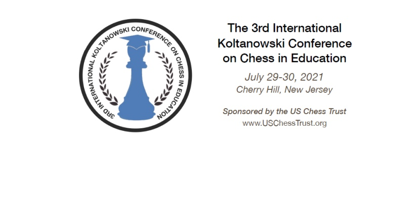 2021 Koltanowski Conference on Chess in Education to be held at the end of July