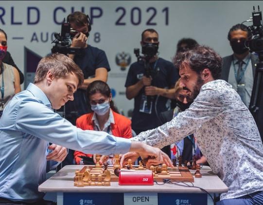Round 02 tiebreaks: Chess Armageddon in Sochi
