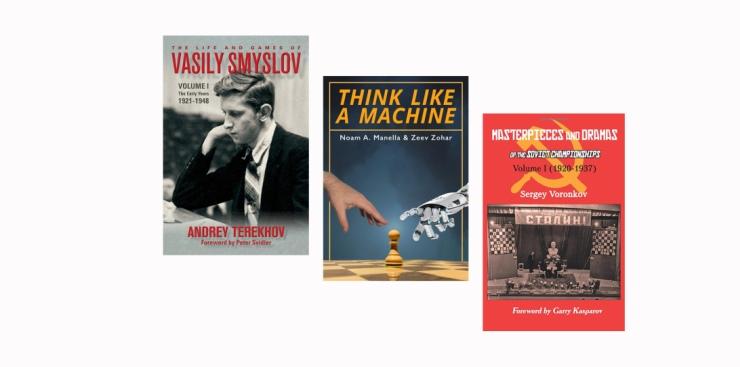 The Life & Games of Vasily Smyslov wins the Averbakh/Boleslavsky Award