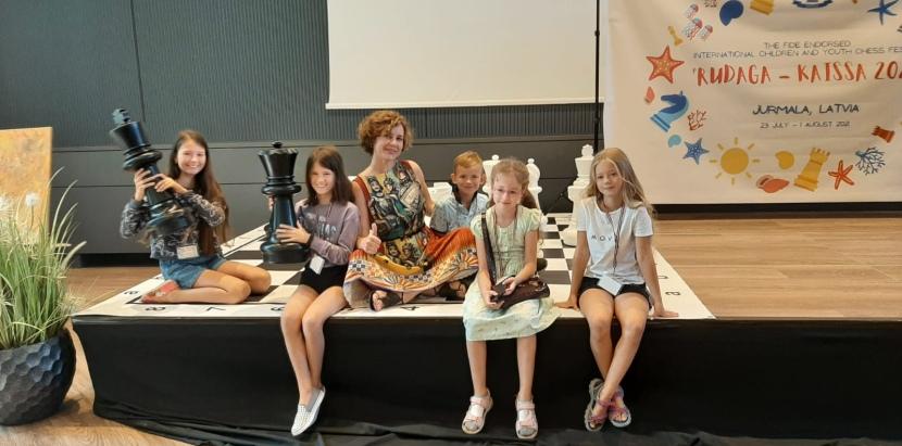 "FIDE endorsed festival ""Rudaga-Kaissa 2021"" kicks off in Jurmala"