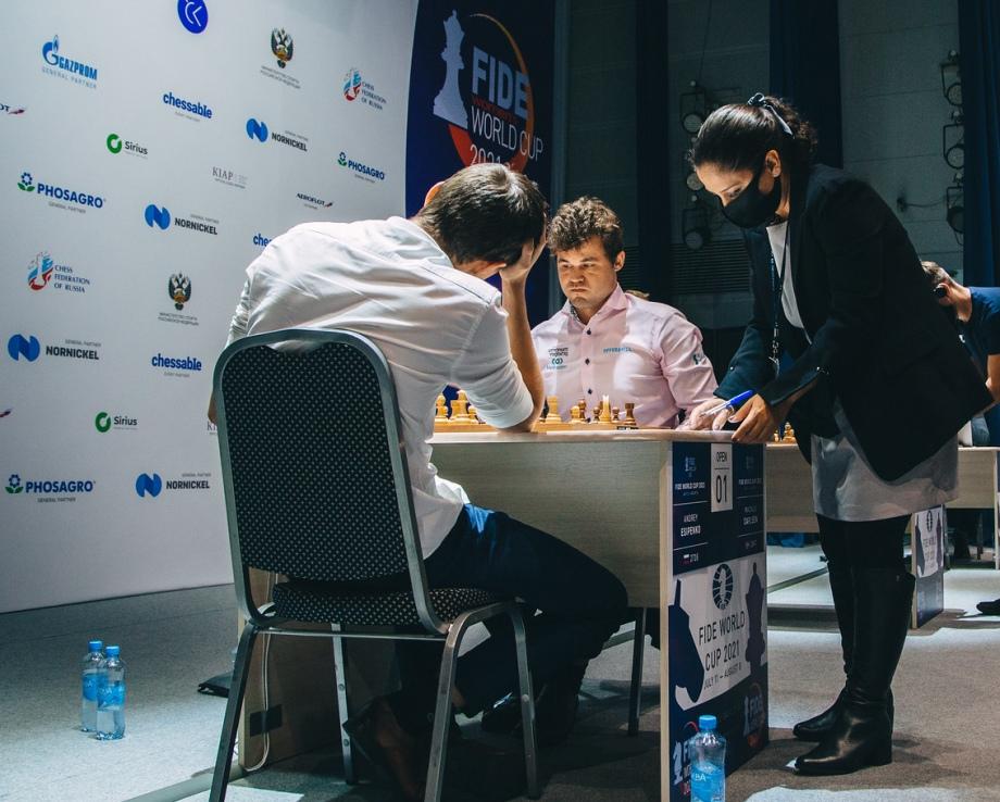 Round 05 tiebreaks: A close scrape for Carlsen