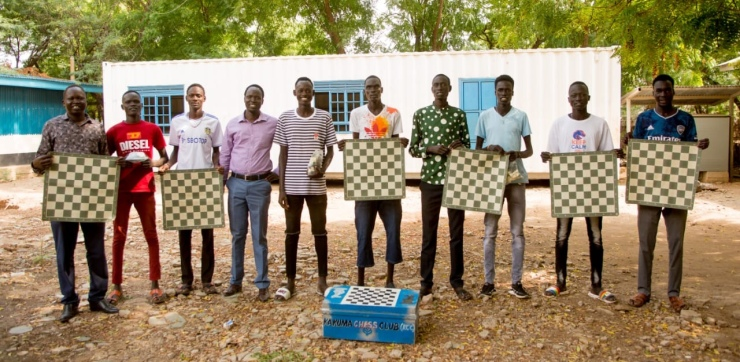 FIDE deploys Chess for Protection project for refugees