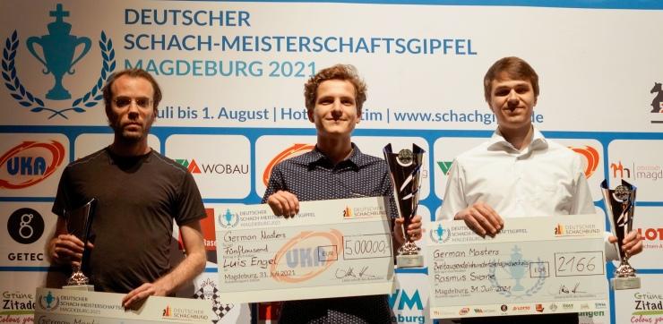 Luis Engel Hanna Marie Klek win German Masters 2021