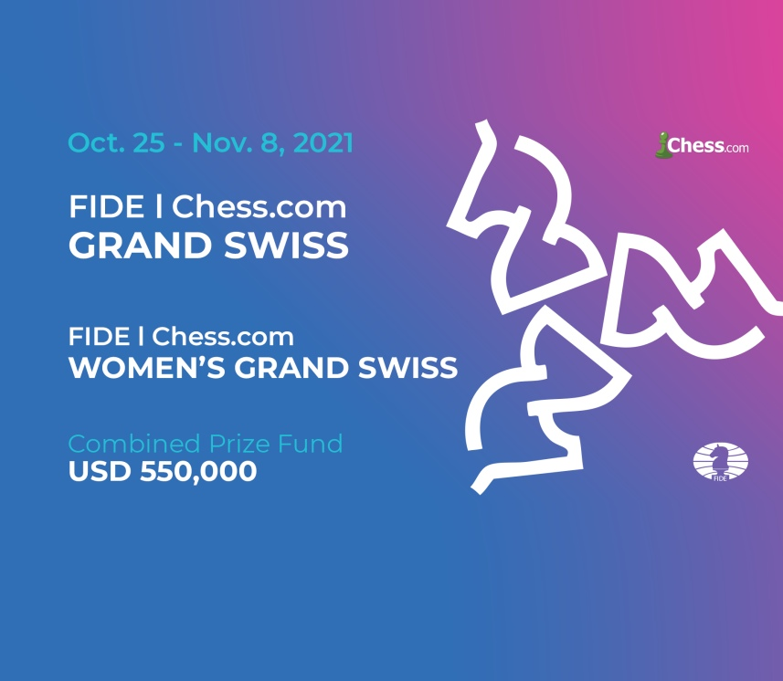 FIDE Chess.com Grand Swiss and Women's Grand Swiss – Important Announcement