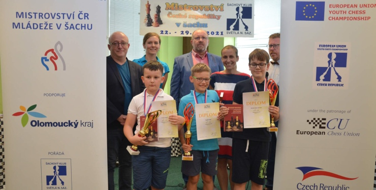 Winners crowned at EU Youth Chess Championship 2021