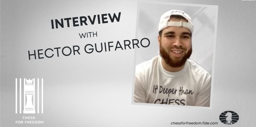 """""""Chess helped me in so many ways"""": interview with ex-convict Hector Guifarro"""