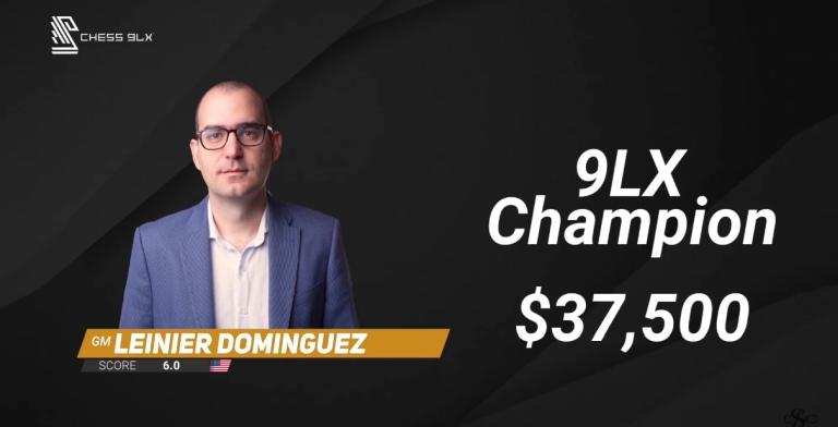 Leinier Dominguez wins 2021 Champions Showdown