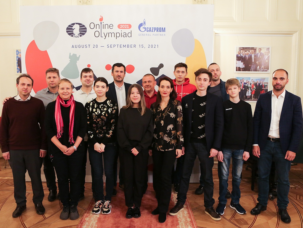 Russia takes gold in the 2021 Online Chess Olympiad