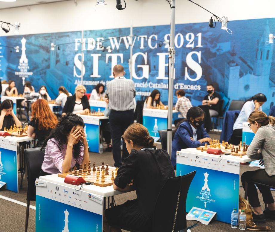 FIDE Women's World Team Championship: CFR Team and Georgia take the lead
