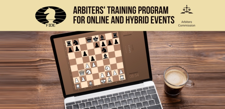 Training program for arbiters of online and hybrid events continues
