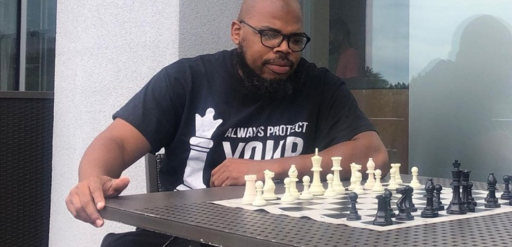 """Rakeem Jeter: """"Chess gives an opportunity to improve"""""""