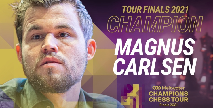 Magnus Carlsenwins first Meltwater Champions Chess Tour title