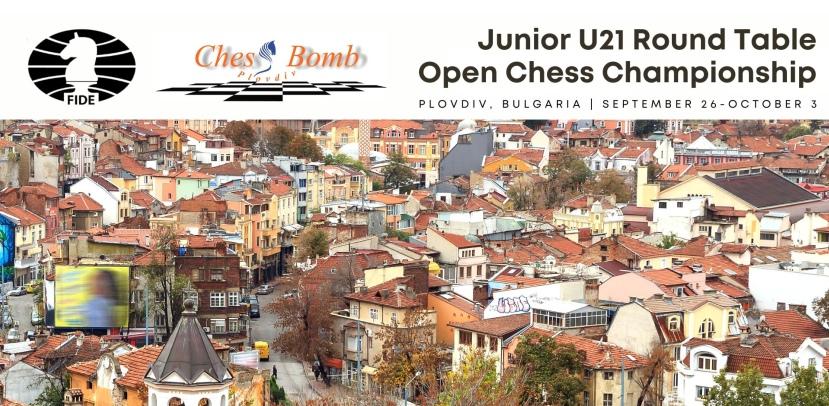 Alexey Sarana wins Junior U21 Round Table Championship