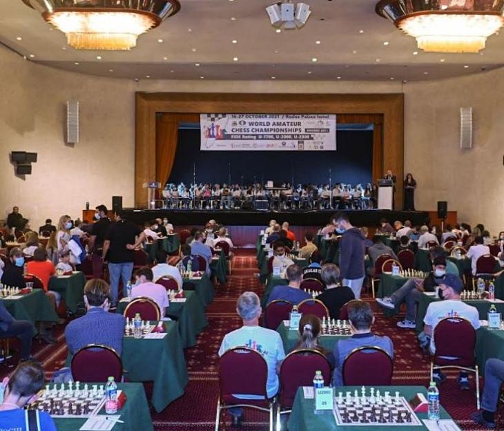 FIDE World Amateur Chess Championship kicks off in Rhodes