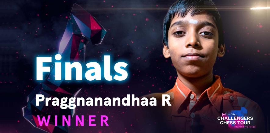 Praggnanandhaa wins Julius Baer Challengers Chess Tour Finals