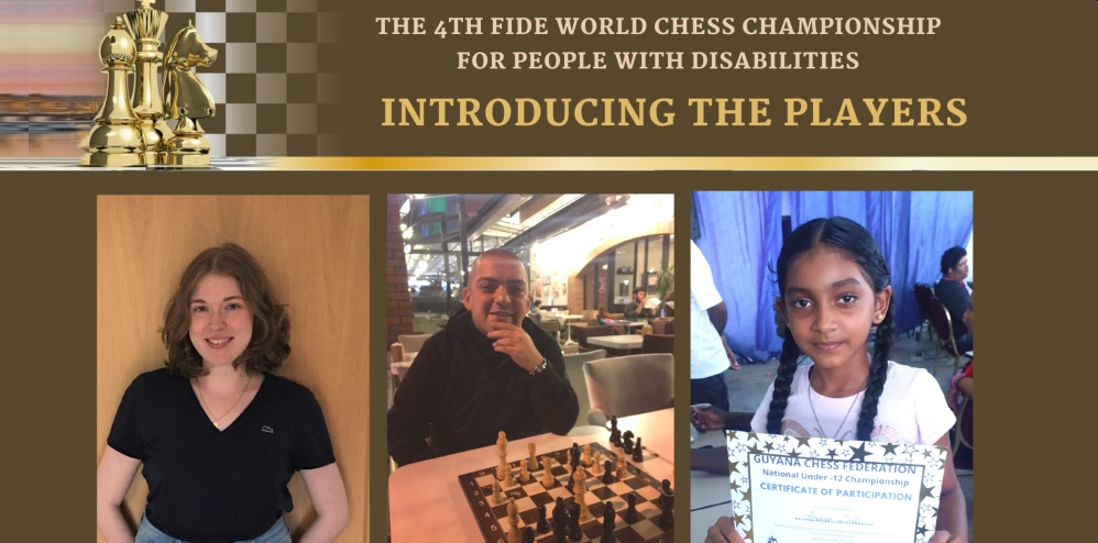 World Chess Championship for People with Disabilities: Registration continues