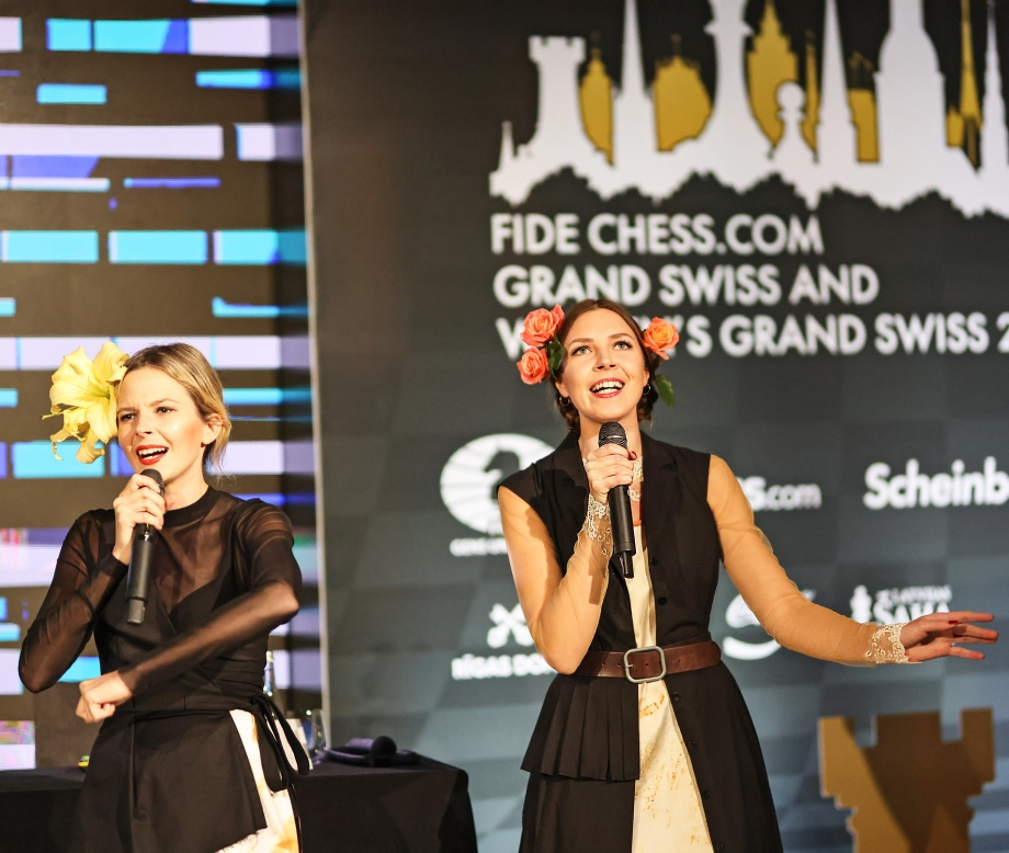 FIDE Chess.com Grand Swiss officially opened in Latvia