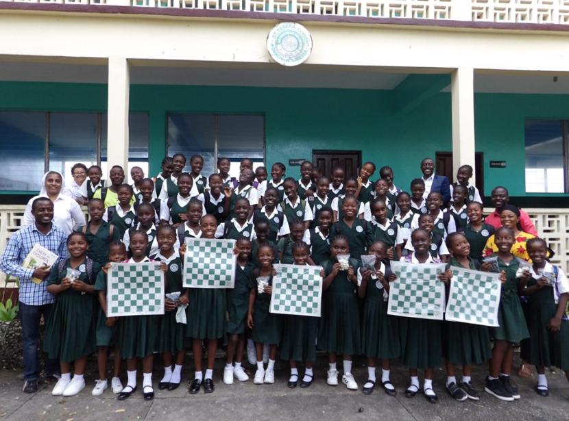 Chess in Schools program launched in Liberia