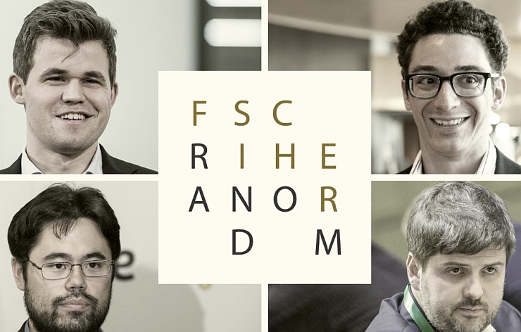 Fischer Random Championship: So, Caruana, Nepomniachtchi advanced to the semis