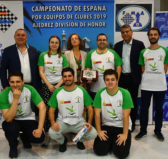 Magic Extremadura wins Spanish Team Championship