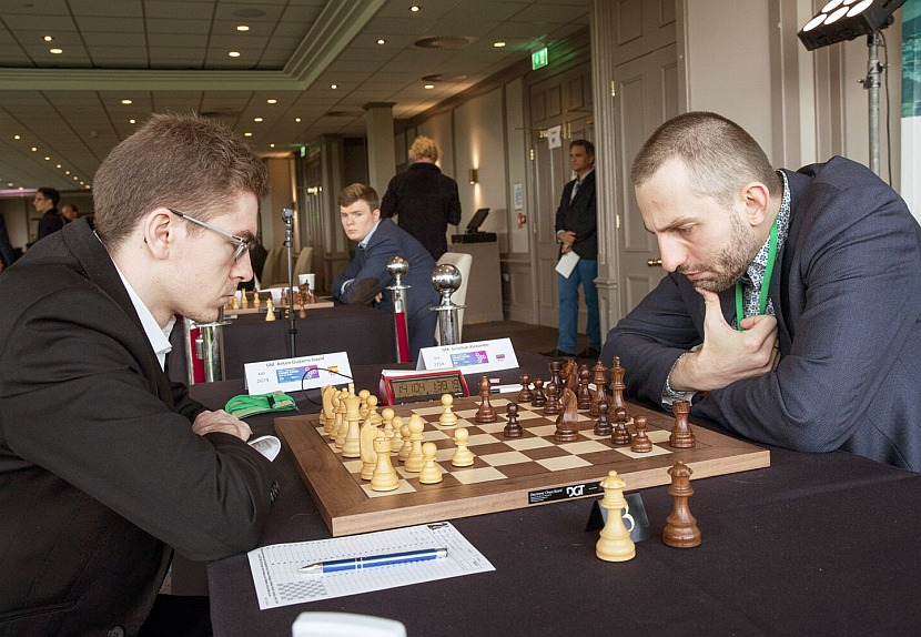 Grand Swiss: David Anton joins Caruana and Aronian at the top