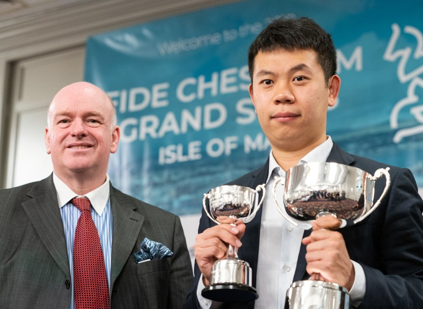 Wang Hao wins the FIDE Chess.com Grand Swiss