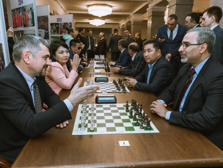 Chess competitions held as part of the 2019 International Parliamentary Games