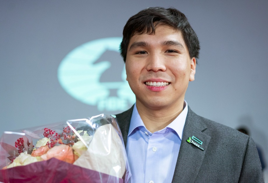 Wesley So is the first Fischer Random World Champion
