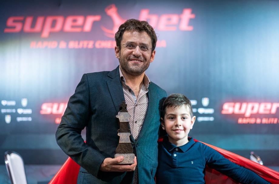 Levon Aronian wins Superbet Rapid & Blitz