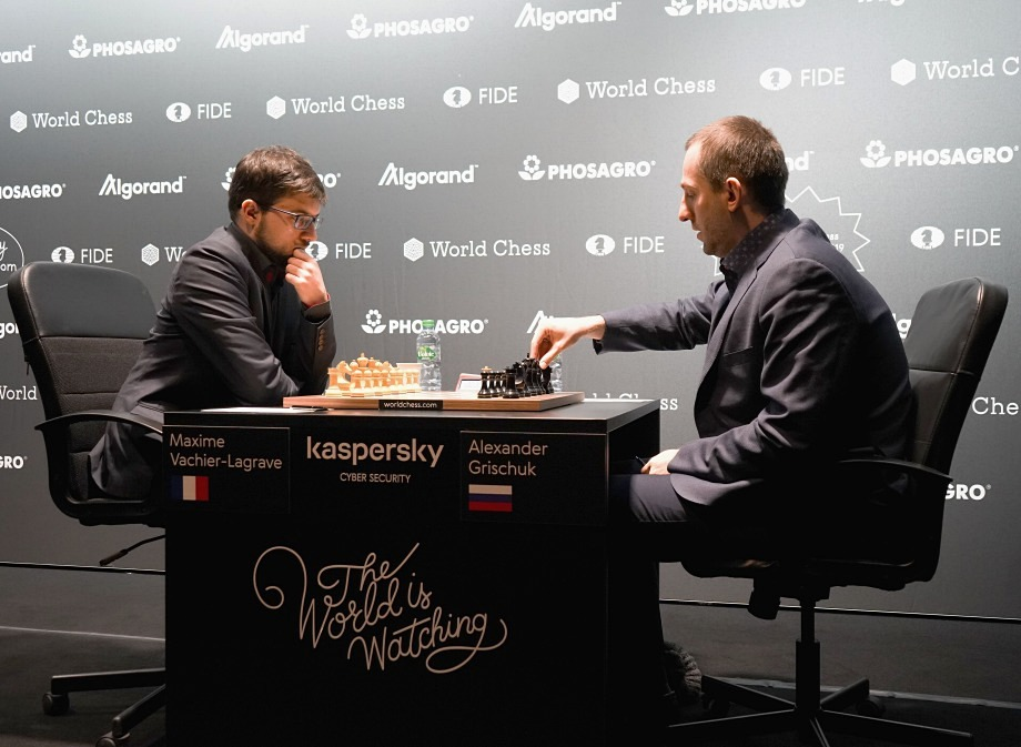 FIDE Grand Prix Hamburg semifinals: Peaceful outcomes in the first games