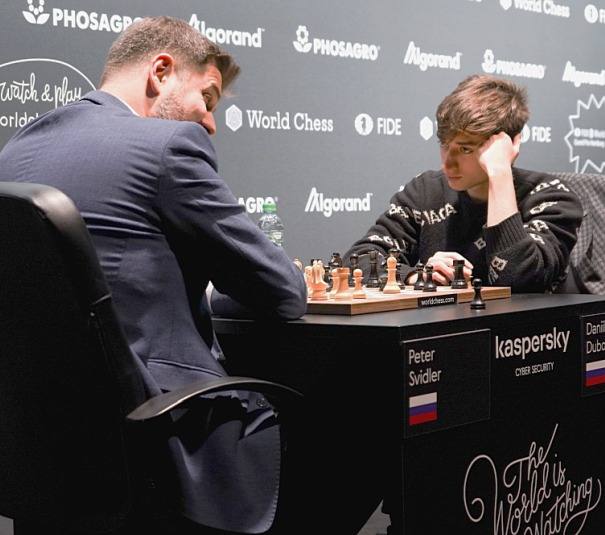 FIDE Grand Prix: Dubov squeezes into semi-finals