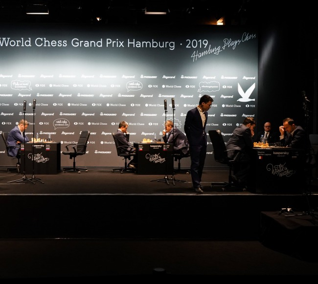 FIDE Grand Prix Hamburg: Three players advance, one tiebreak to follow