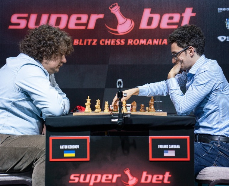 Superbet Rapid & Blitz: Korobov maintains his lead