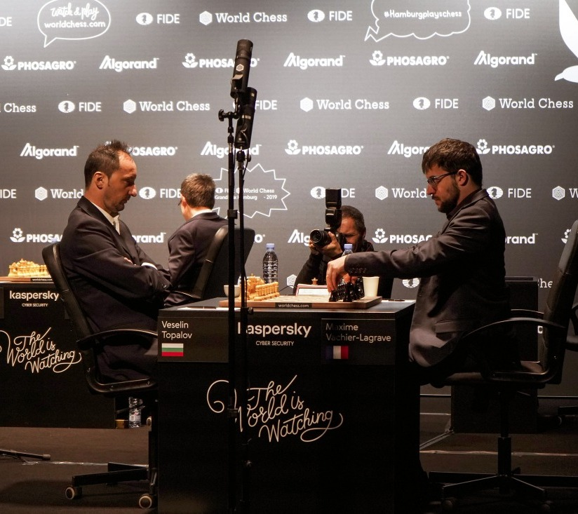 FIDE Grand Prix Hamburg: Vachier-Lagrave is the only winner of the day