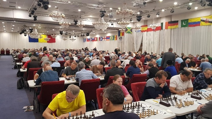 World Senior Championship kicks off in Bucharest