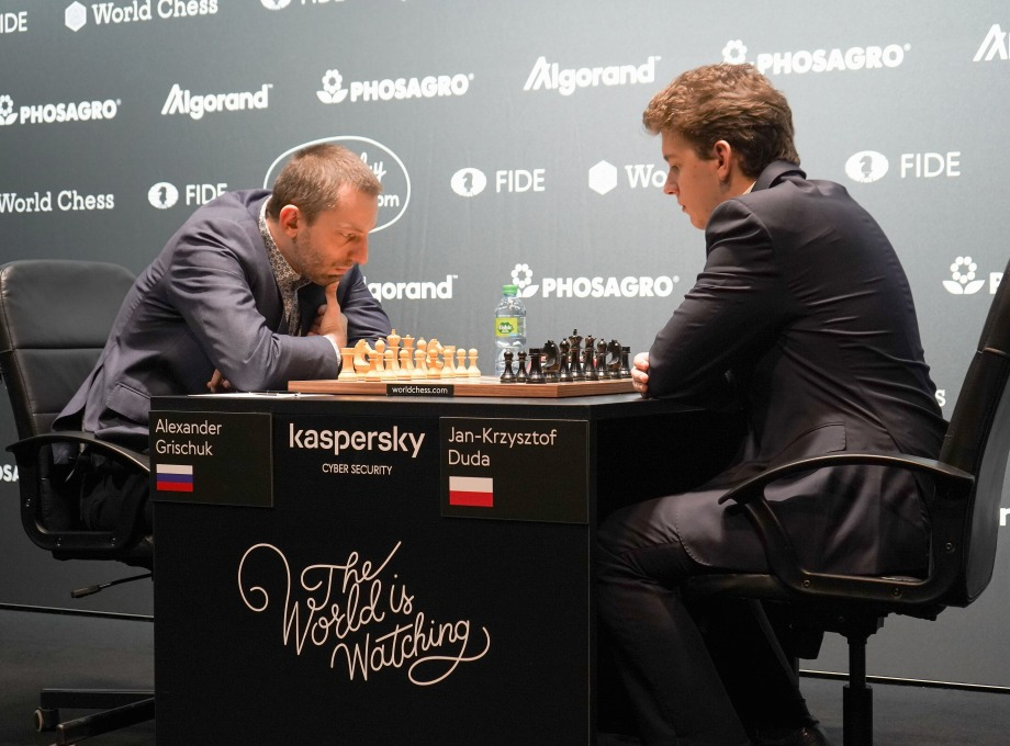 FIDE Grand Prix Hamburg: Final starts with a draw