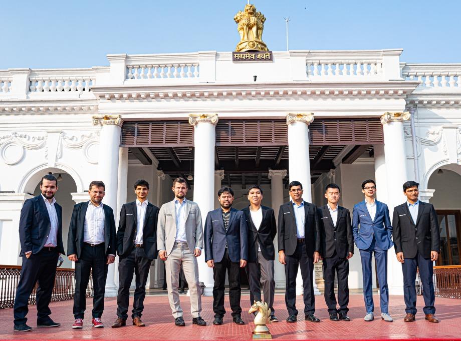 Tata Steel Rapid & Blitz: Carlsen takes the lead