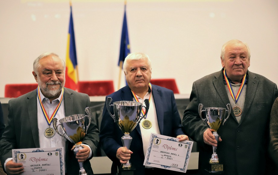 Senior Champions crowned in Bucharest