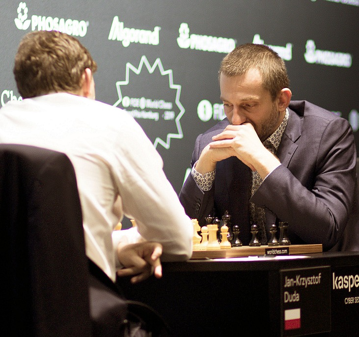 FIDE Grand Prix Hamburg: Grischuk pushes but Duda holds