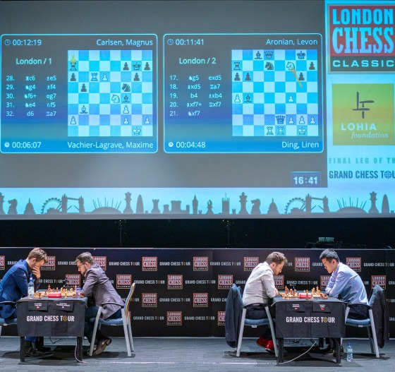 GCT Finals: Ding Liren and Vachier-Lagrave meet in the final