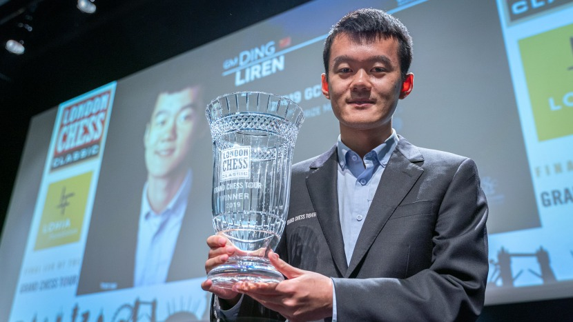 Ding Liren is the winner of Grand Chess Tour 2019