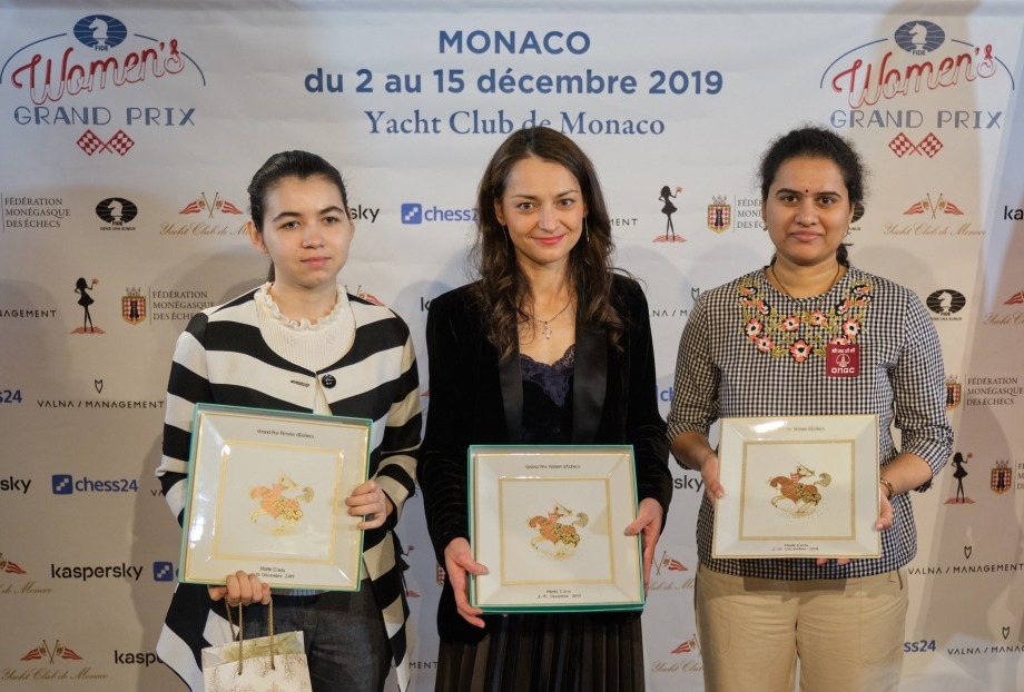 Alexandra Kosteniuk wins the Monaco Women's Grand Prix