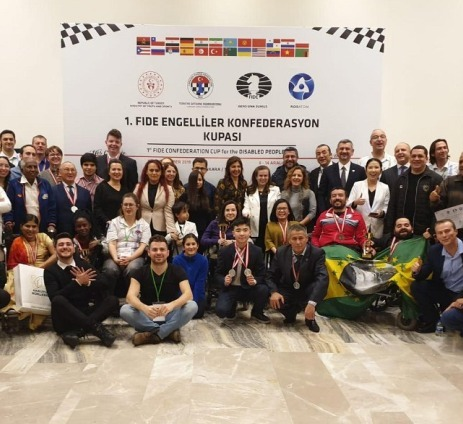 Team Europe wins FIDE Confederation Cup for Players with Disabilities