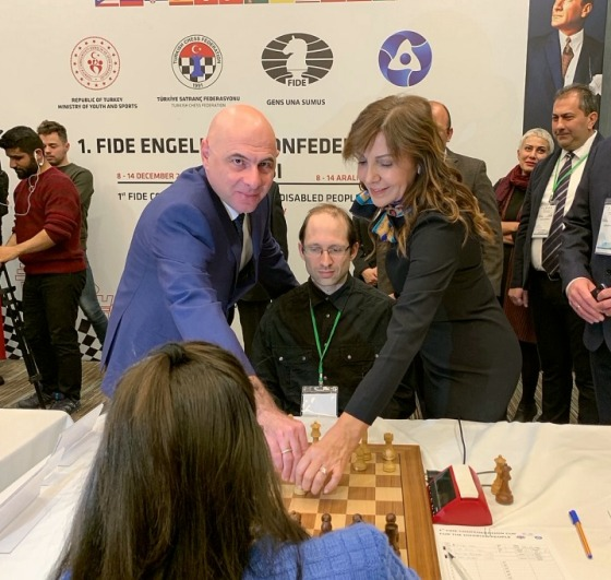 Confederation Cup for Disabled People kicks off in Ankara