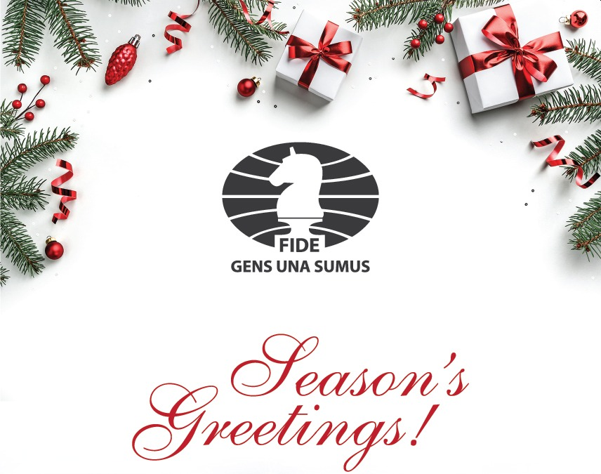 Season's Greetings and Holiday Announcement